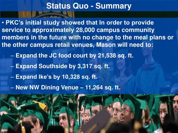 Status Quo - Summary