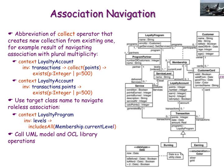 Association Navigation