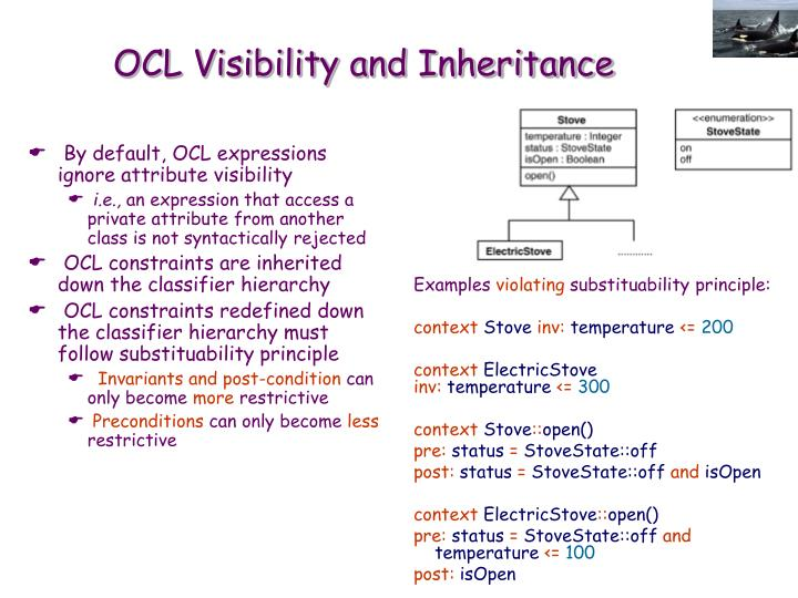 By default, OCL expressions ignore attribute visibility