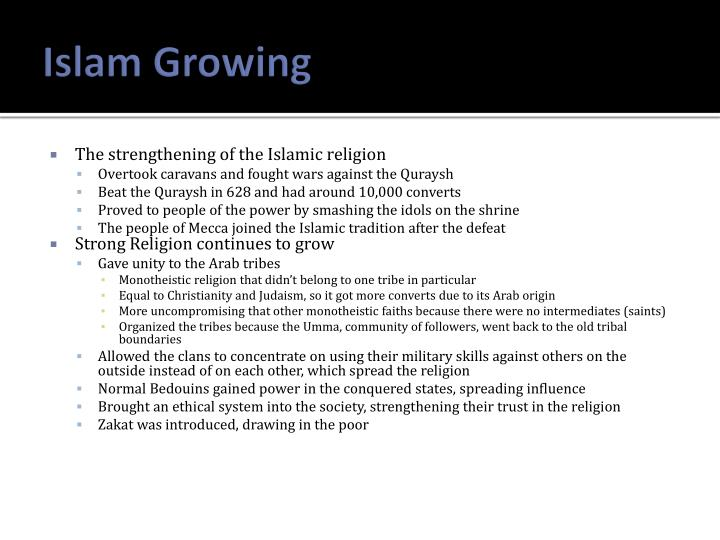 Islam Growing