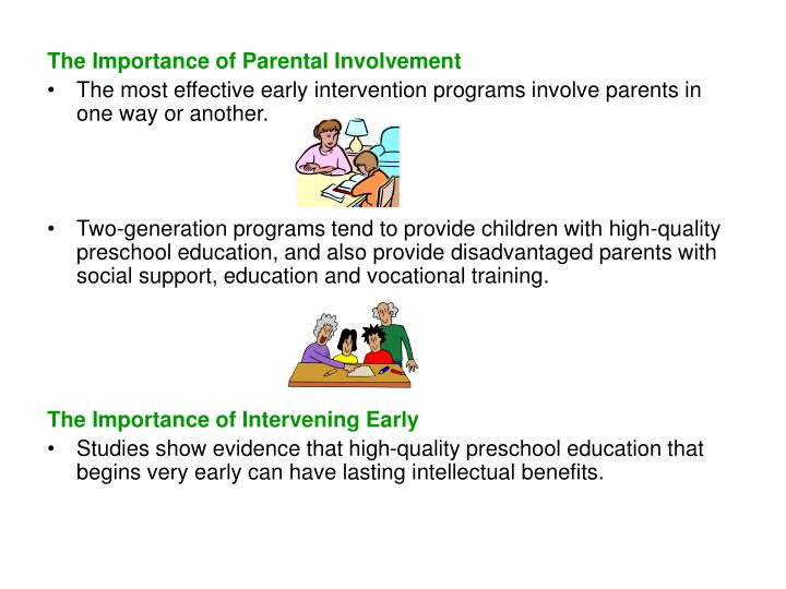 The Importance of Parental Involvement