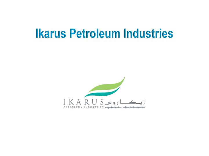 Ikarus petroleum industries