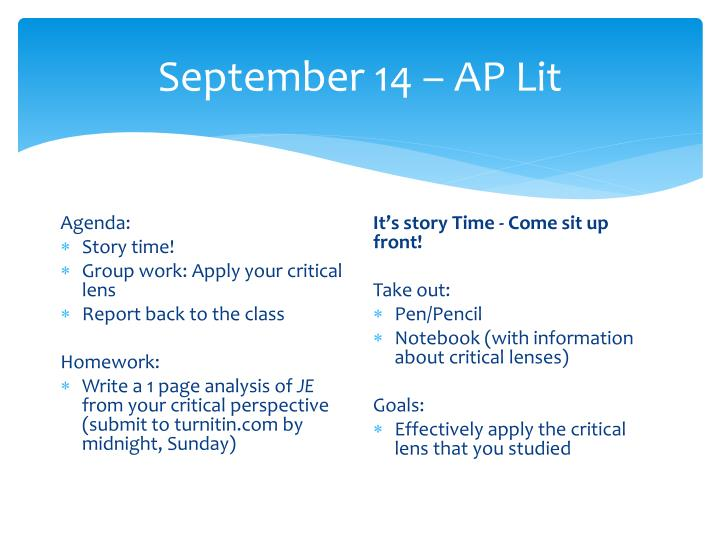 September 14 ap lit