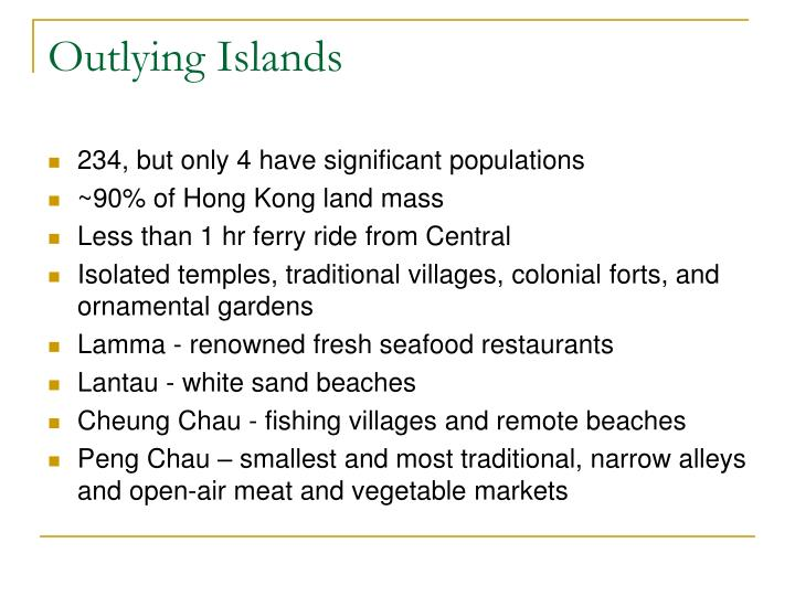 Outlying Islands