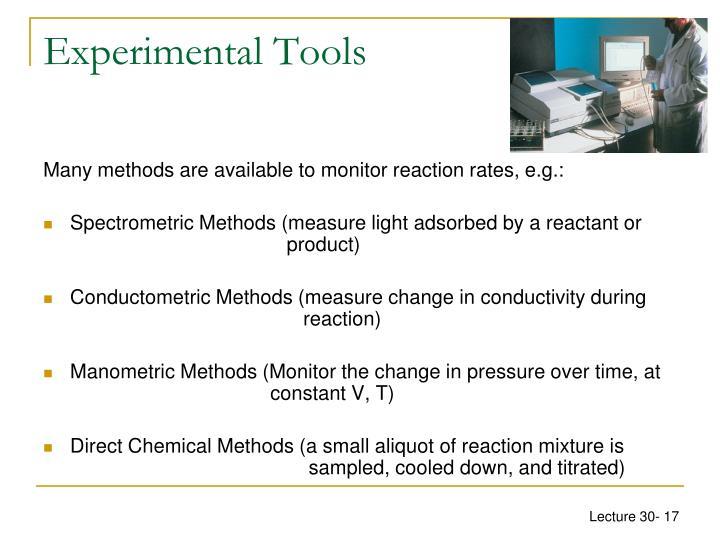 Experimental Tools
