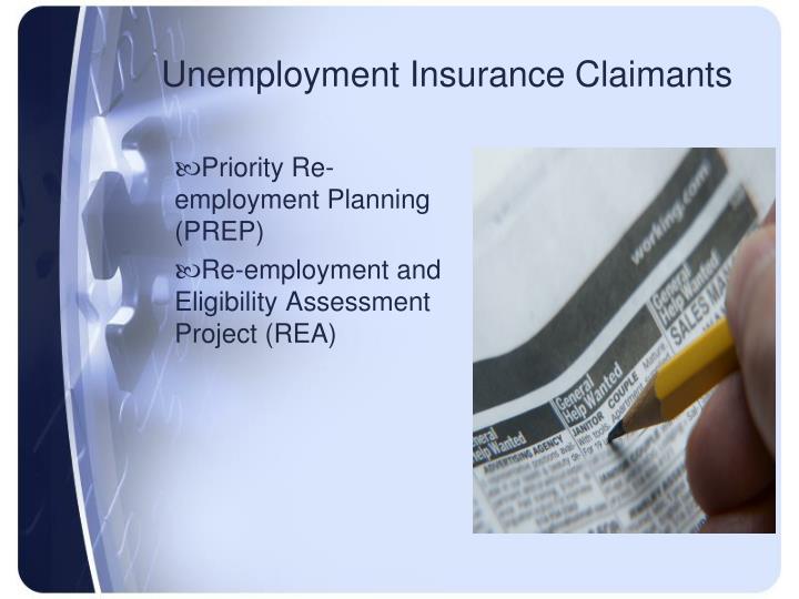 Unemployment Insurance Claimants