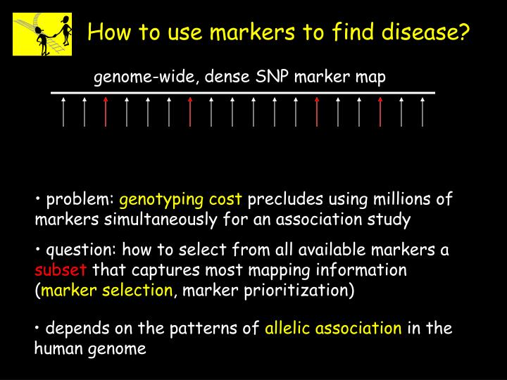 question: how to select from all available markers a