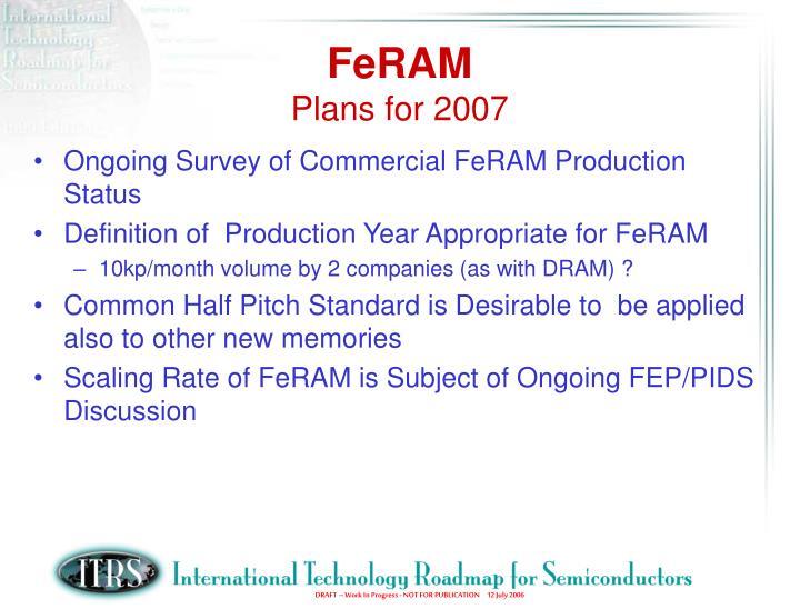 FeRAM