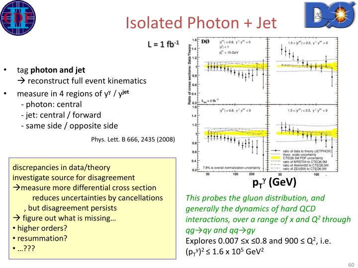 Isolated Photon + Jet