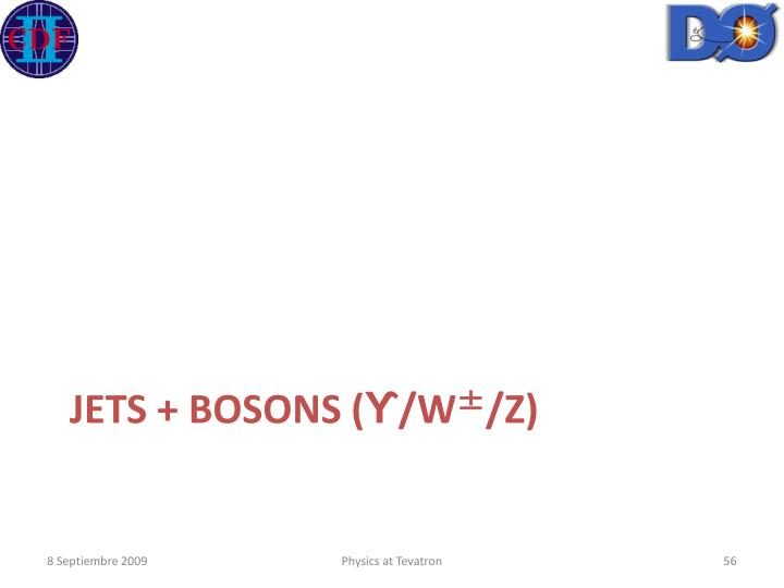 JETS + BOSONS (