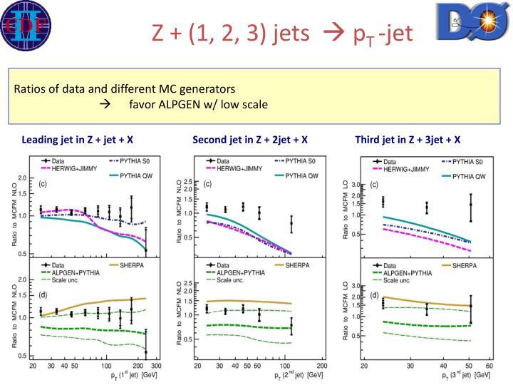 Z + (1, 2, 3) jets