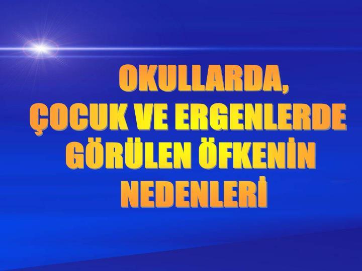 OKULLARDA,