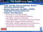 the agdp core team