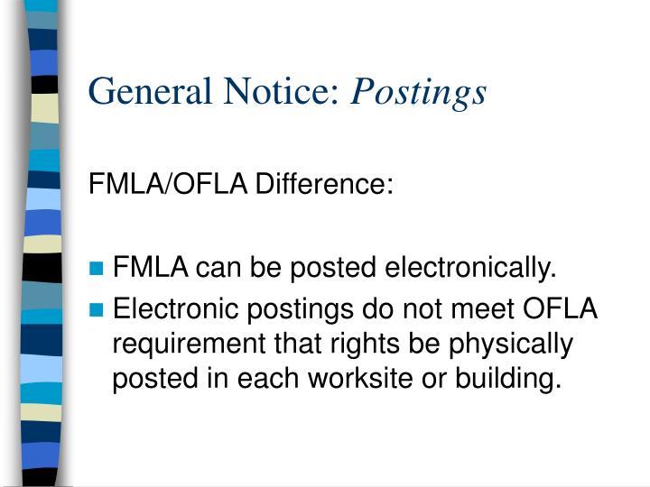 General Notice: