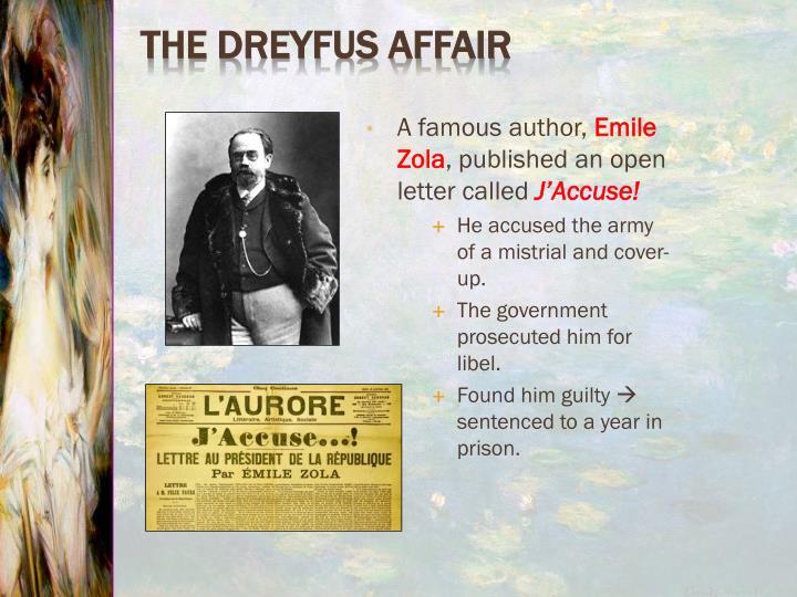 A famous author,