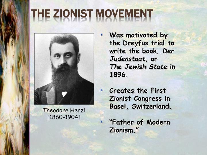 The Zionist Movement