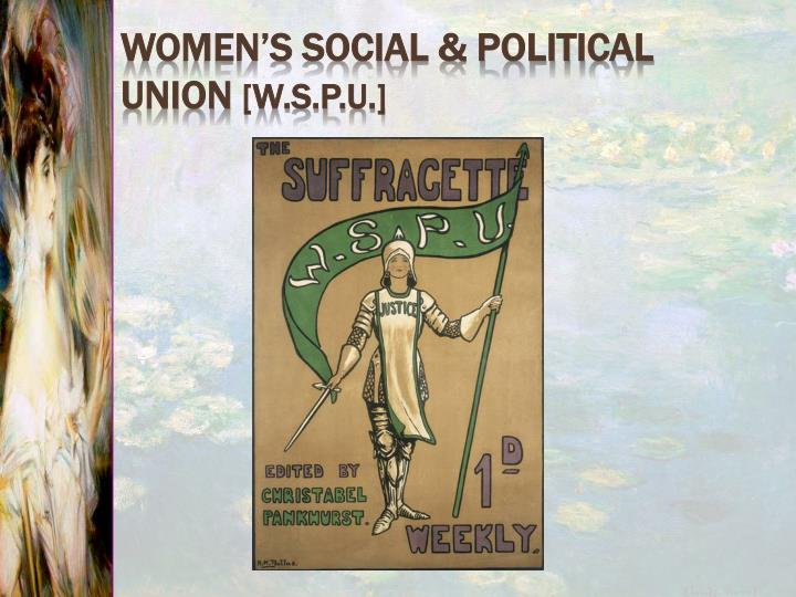 Women's Social & Political Union