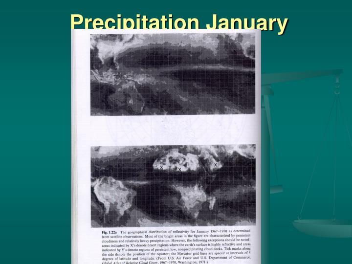 Precipitation January