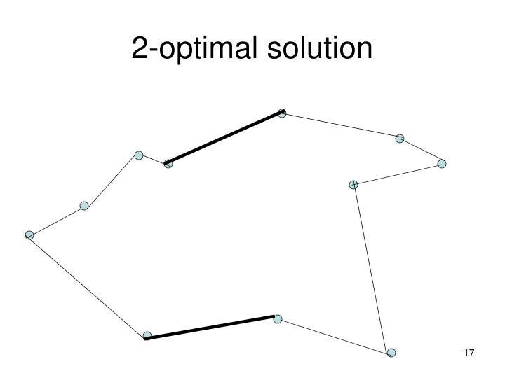 2-optimal solution
