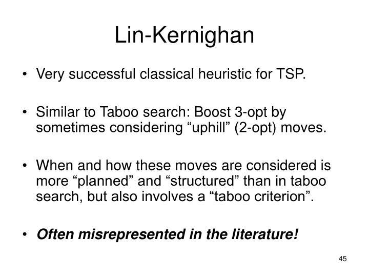 Lin-Kernighan