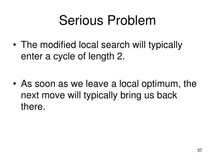 Serious Problem