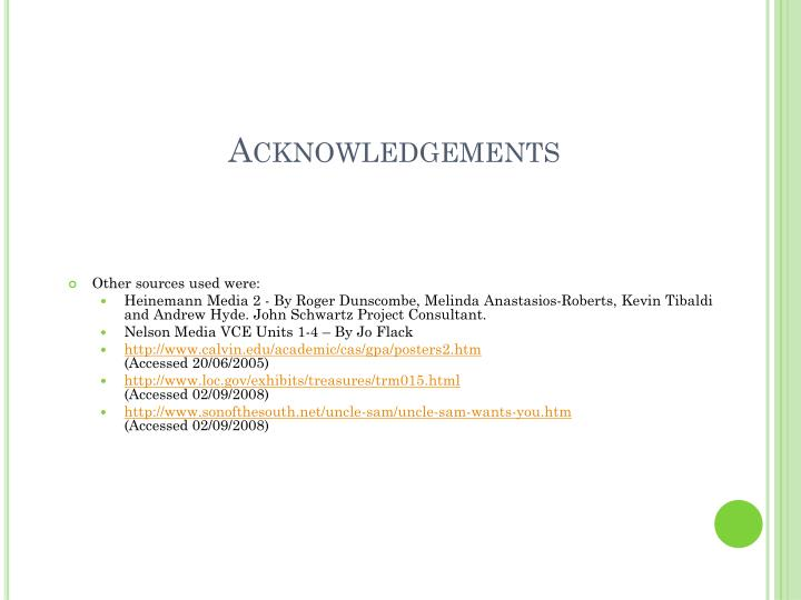 Acknowledgements1