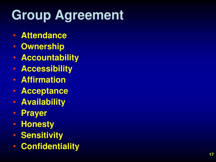 Group Agreement