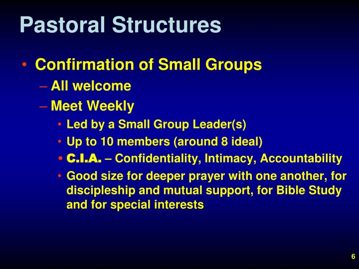 Pastoral Structures