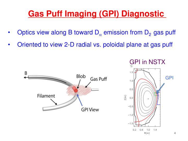 Gas Puff Imaging (GPI) Diagnostic