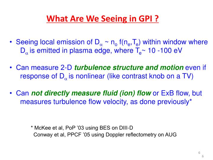 What Are We Seeing in GPI ?
