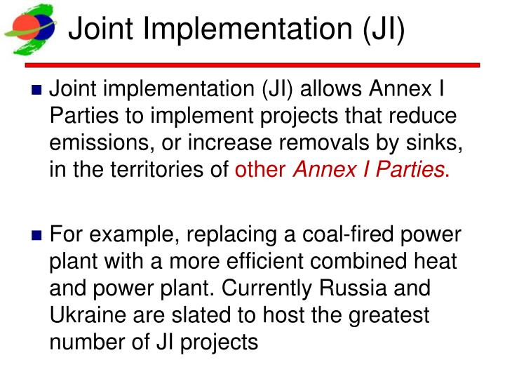 Joint Implementation (JI)