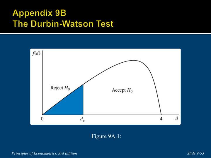 Appendix 9B