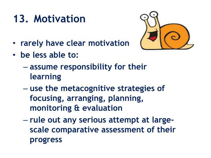 13. Motivation