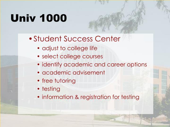 Univ 1000