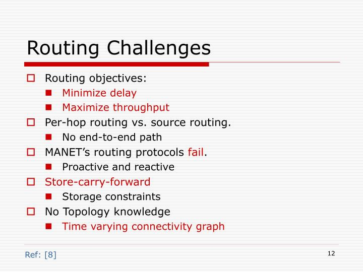 Routing Challenges