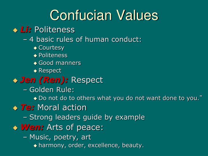 Presentation on moral values