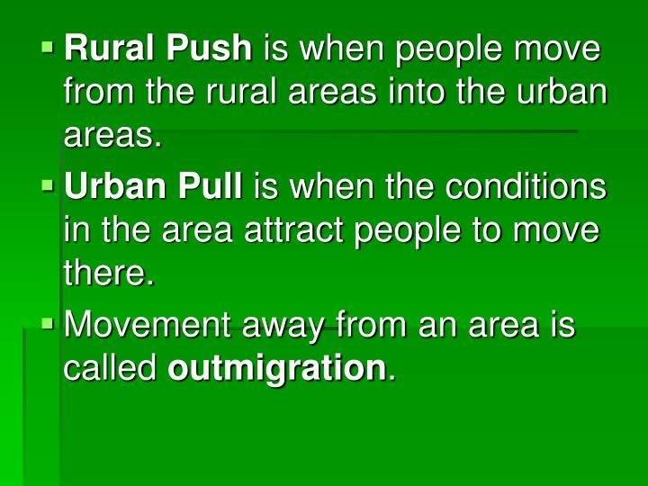 Rural Push