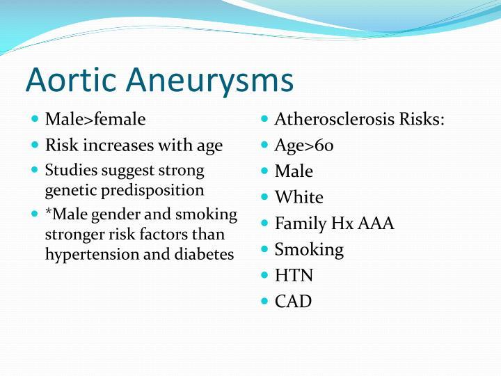 Aortic Aneurysms