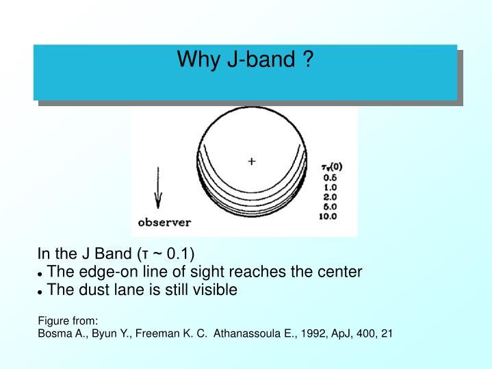 Why J-band ?