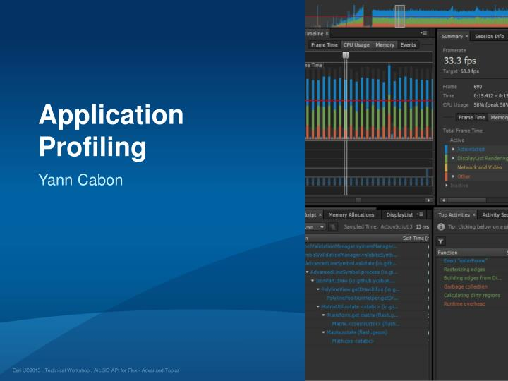 Application Profiling