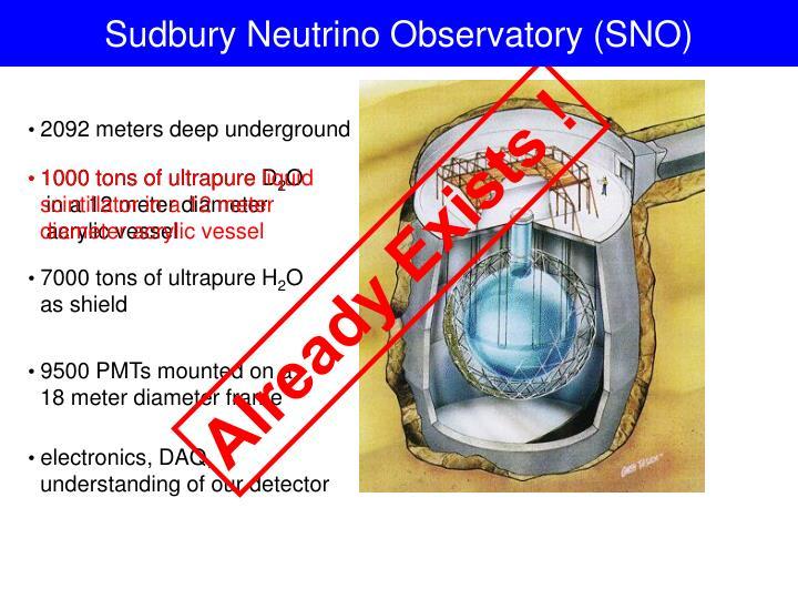 Sudbury Neutrino