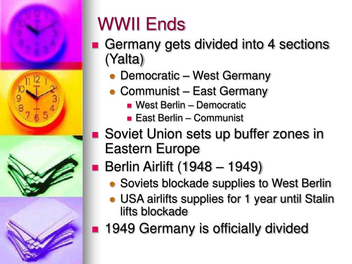 WWII Ends