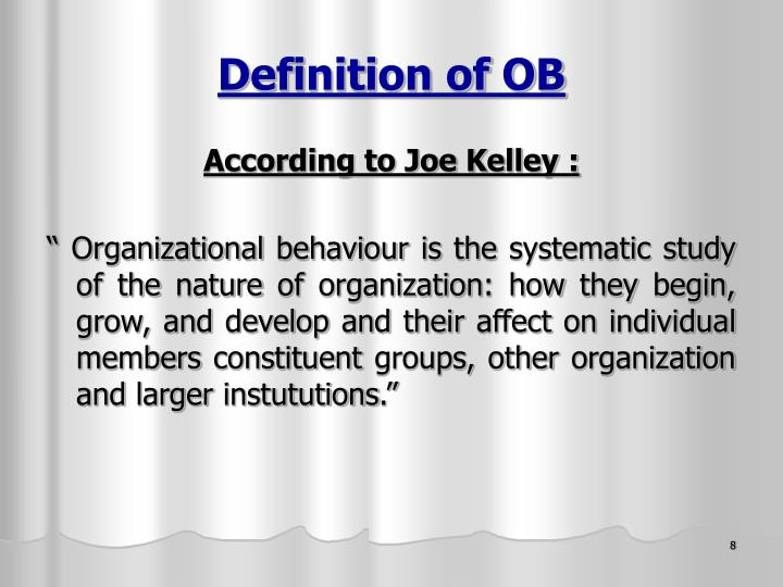 Definition of OB