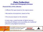 data collection prints and photographs division1