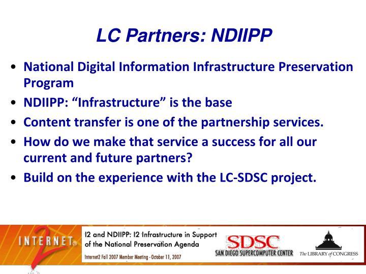 LC Partners: NDIIPP