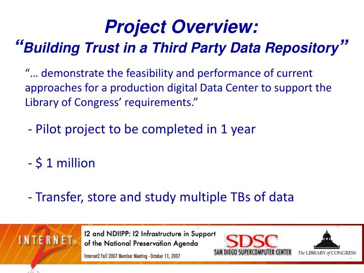 Project Overview: