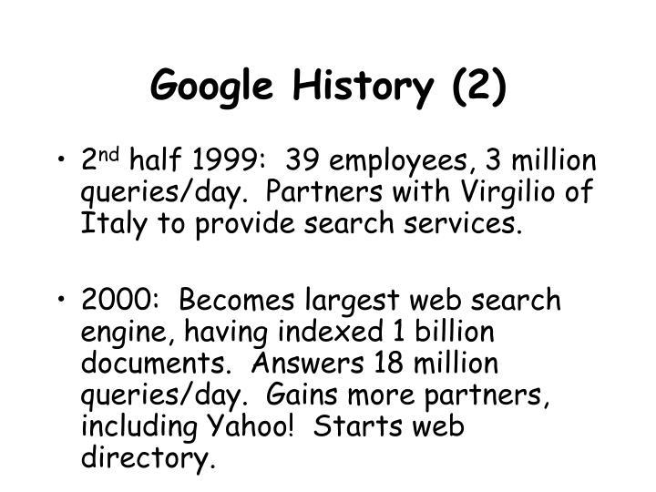 Google History (2)