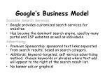 google s business model