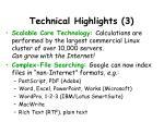technical highlights 3