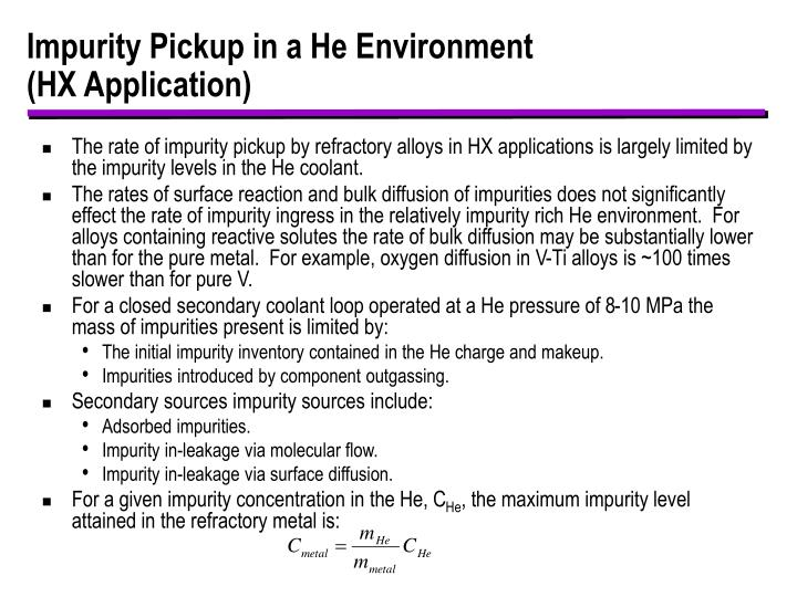 Impurity Pickup in a He Environment